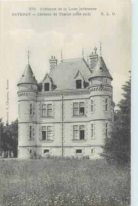 "CPA FRANCE 44 ""Savenay, château de Therbé"""