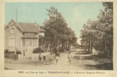 """CPA FRANCE 44 """"Tharon plage, l'avenue Auguste Brizeux"""""""