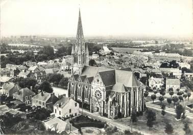 """CPSM FRANCE 44 """"Saint Philibert de Grand Lieu, l'église"""""""