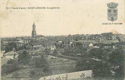 """CPA FRANCE 87 """"Saint Léonard, vue générale"""""""