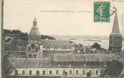 """CPSM FRANCE 58 """"La Charité sur Loire, vue générale"""""""