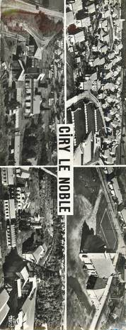 """CPSM PANORAMIQUE FRANCE 71 """"Ciry le Noble"""""""