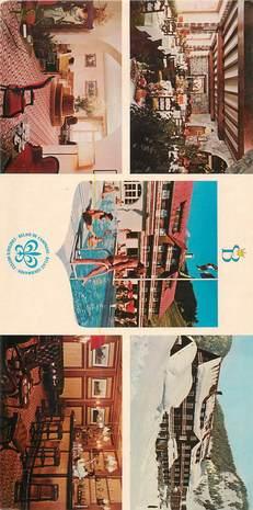 """CPSM PANORAMIQUE FRANCE 74 """"La Clusaz, Hotel Beauregard"""""""