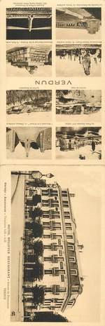"""CPA LIVRET FRANCE 55 """"Verdun, Hotel Bellevue"""""""
