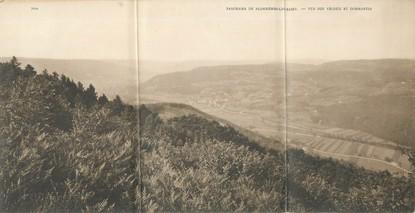 """CPA PANORAMIQUE FRANCE 88 """"Plombières Le Bains, vue sur Vécoux et Dommartin"""""""
