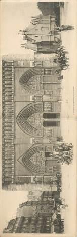 """CPA PANORAMIQUE FRANCE 75004 """"Paris, Notre Dame de Paris"""""""
