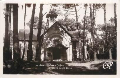 """CPSM FRANCE 44 """"Saint Brevin l'Océan, chapelle Saint Louis"""""""