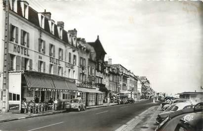 """CPSM FRANCE 14 """"Luc sur Mer, rue Guynemer et les hôtels"""""""