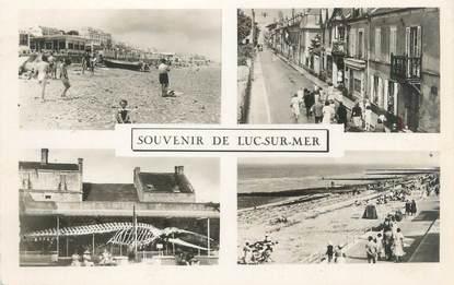"""CPSM FRANCE 14 """"Luc sur Mer"""""""