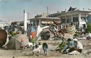 """14 Calvado CPSM FRANCE 14 """"Luc sur Mer, la plage"""""""