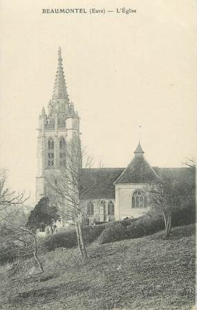 "CPA FRANCE 27 ""Beaumontel, l'église"""
