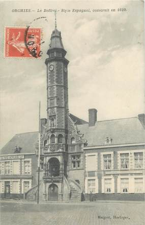 """CPA FRANCE 59 """"Orchies, le Beffroi"""""""