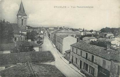 "CPA FRANCE 17 ""Etaules, vue panoramique"""