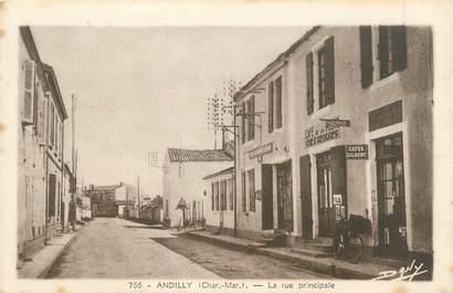 "CPA FRANCE 17 ""Andilly, la rue principale"""