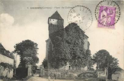 """CPA FRANCE 19 """"Curemonte, place du château"""""""