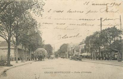 "CPA FRANCE 92 ""Grand Montrouge, porte d'Orléans"""