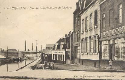 """CPA FRANCE 59 """"Marquette, rue des Charbonniers de l'abbaye"""""""