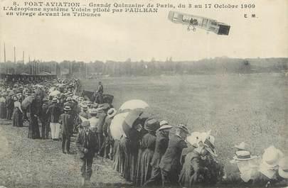 """CPSM FRANCE 91 """"Viry Chatillon, Port Aviation, grand quinzaine de Paris 1909"""""""
