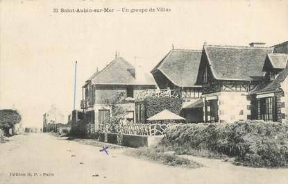 """CPA FRANCE 14 """"Saint Aubin sur Mer, un groupe de villas"""""""