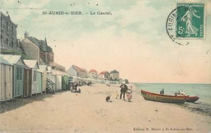 """CPA FRANCE 14 """"Saint Aubin sur Mer, le castel"""""""