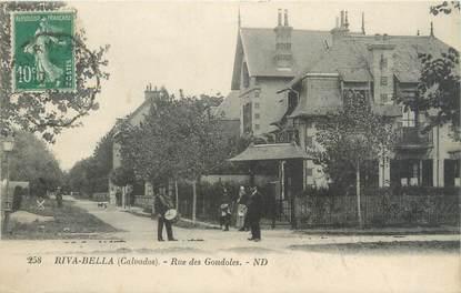 "CPA FRANCE 14 ""Riva Bella, rue des Gondoles"""