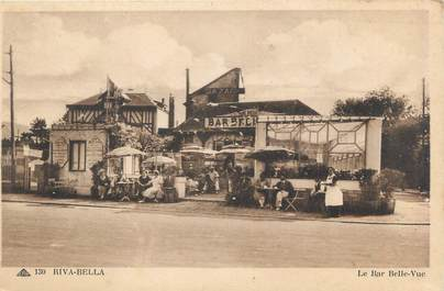 "CPA FRANCE 14 ""Riva Bella, le bar Belle vue"""