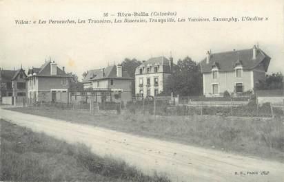 "CPA FRANCE 14 ""Riva Bella, villa Les Pervenches, les trouvères"""