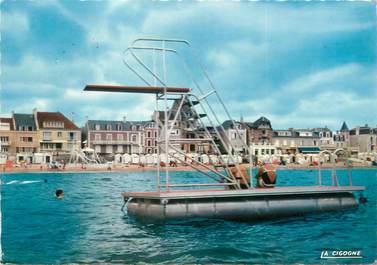 """CPSM FRANCE 14 """"Saint Aubin sur Mer, vue du plongeoir"""""""