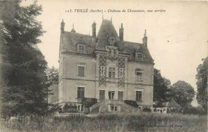 "CPA FRANCE 72 ""Teillé, château de Chevesnier"""