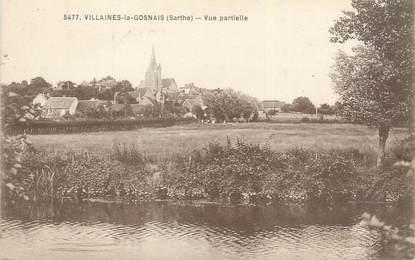 """CPA FRANCE 72 """"Villaines la Gosnais, vue partielle"""""""