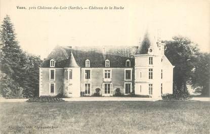 """CPA FRANCE 72 """"Vaas, château de la Roche"""""""
