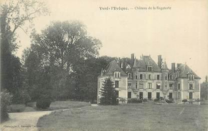 """CPA FRANCE 72 """"Yvré l'Evêque, château de la Ragoterie"""""""