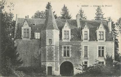 """CPA FRANCE 72 """"Douy, château du Prieuré"""""""