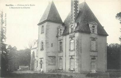 """CPA FRANCE 72 """"Beaumont la Chartre, château de la Borde"""""""