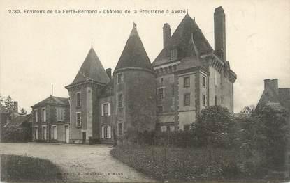 """CPA FRANCE 72 """"Avezé, château de la Prousterie"""""""