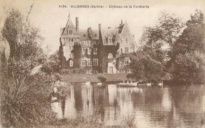 """CPA FRANCE 72 """"Allonnes, château de la Forêterie"""""""