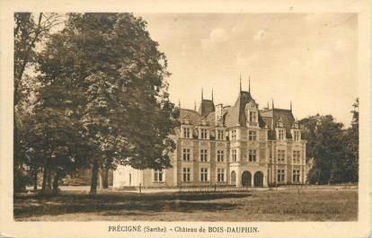 """CPA FRANCE 72 """"Précigné, château de Bois Dauphin"""""""