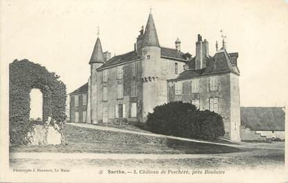 """CPA FRANCE 72 """"Château de Pescheré près Bouloire"""""""