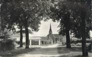 """72 Sarthe CPSM FRANCE 72 """"Precigné, l'église vue de la route du château"""""""