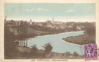 """CPA FRANCE 72 """"Parcé, vallée de la Sarthe"""""""
