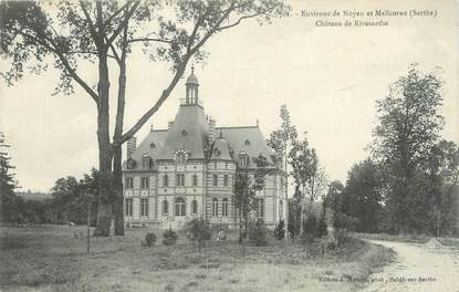 """CPA FRANCE 72 """"Environs de Noyen et Malicorne, château de Rivesarthe"""""""