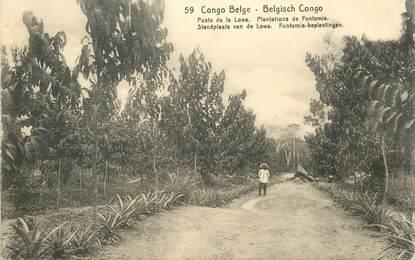 """CPA CONGO BELGE """"Poste de la Lowa"""""""