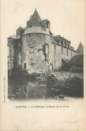 """CPA FRANCE 72 """"La Milesse, château de la Selle"""""""