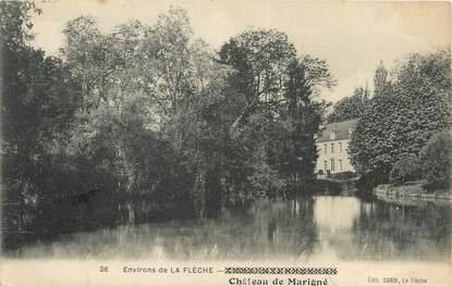 """CPA FRANCE 72 """"Environs de la Flèche, château de Marigné"""""""