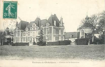 """CPA FRANCE 72 """"Environs de Chahaignes, château de la Gidonnière"""""""