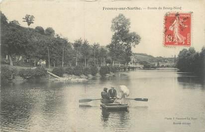 "CPA FRANCE 72 ""Fresnay sur Sarthe, bassin du Bourg Neuf"""
