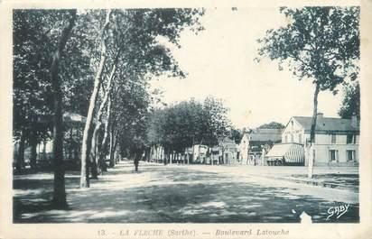 """CPA FRANCE 72 """"La Flèche, boulevard Latouche"""""""
