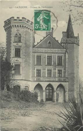 """CPA FRANCE 72 """"La Flèche, château de l'Arthuizière"""""""