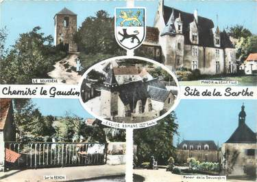 "CPSM FRANCE 72 ""Chemiré le Gaudin"""