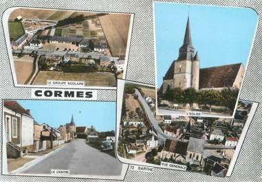 "CPSM FRANCE 72 ""Cormes"""